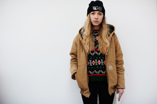 (via If You're Thinking About……. Girls in Carhartt « The Sartorialist)