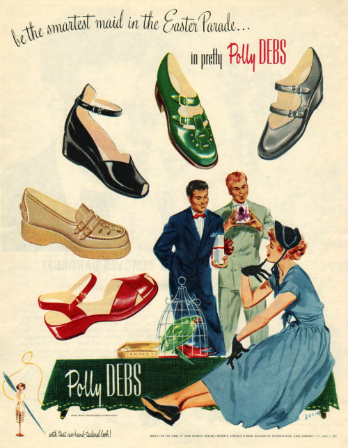 Polly Debs Shoes 1949