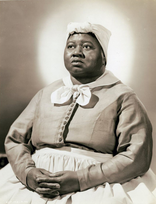 "lottereinigerforever:  Hattie McDaniel in a publicity still for ""Gone with the wind"""