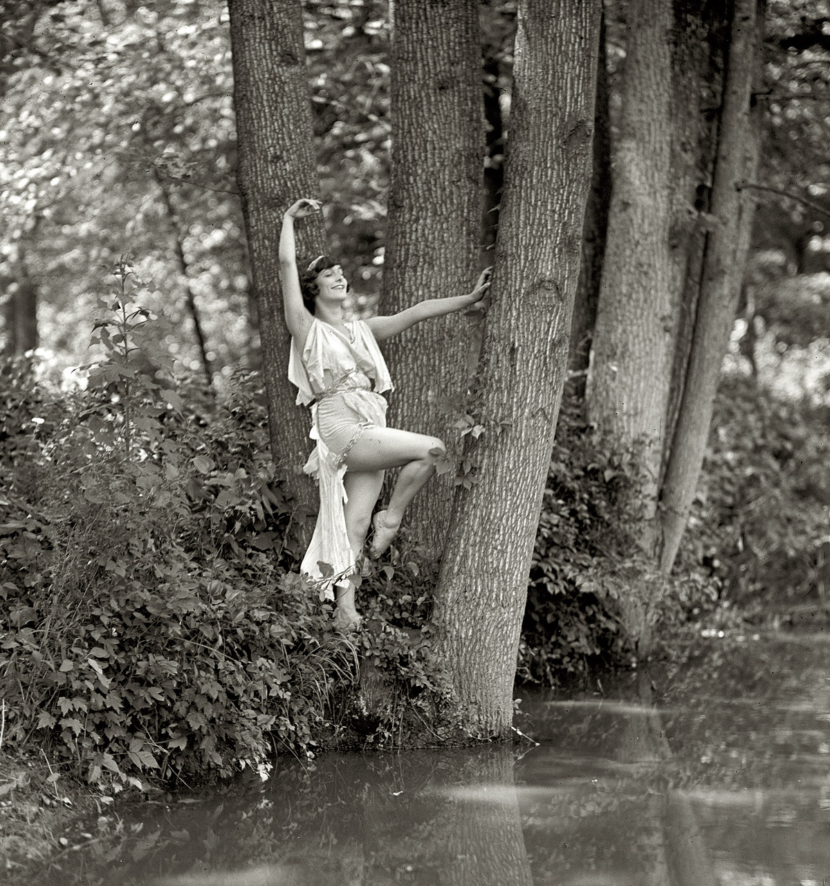 Water Nymph, 1925 (via)