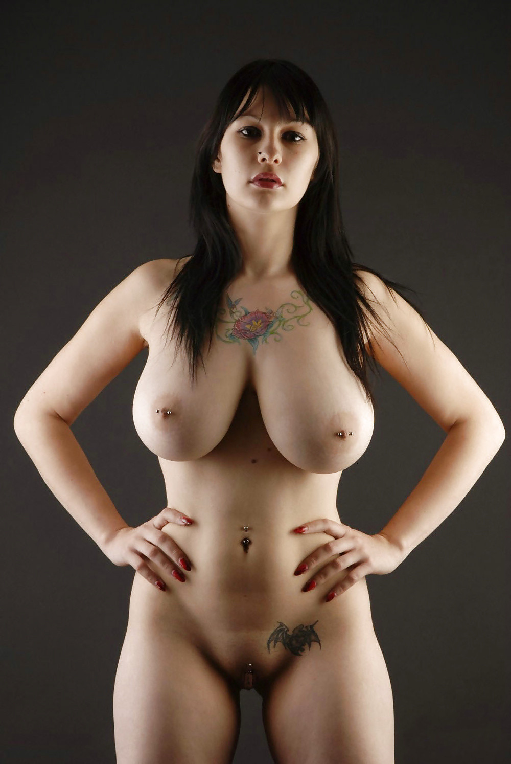Naked goth girls with big boobs