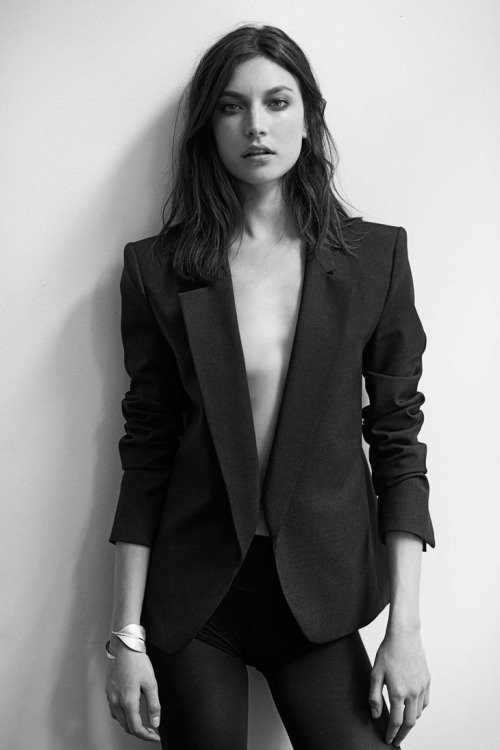 michaelrecycles:  kvdd:  Jacquelyn Jablonski ~ by Eric Guillemain, 2013 ~  ♻