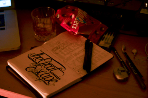 How Sunday evenings tend to go down at BCHQ. #Hangovers, #Scotch, #Maltesers, #Artwork & #Beats.