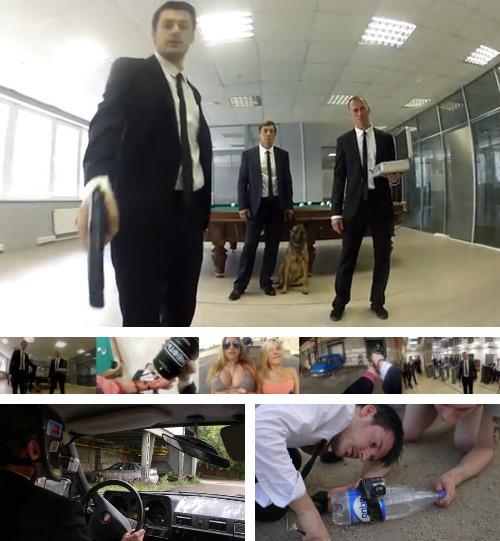 This is the Most Insane Office Escape Ever [Click for video] Russian band Biting Elbows has released a music video that puts our stateside efforts (and Hollywood big budget films) to shame in an epic POV chase sequence. This is a sequel. The original, released in September 2011 (for their song The Stampede) is currently sitting with 2.5M views. The first video was great, but this sequel (which incorporates the same liquid-activated teleportation device) truly blows it out of the water. Continue