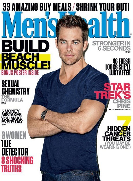 (via Chris Pine su Men's Health!)