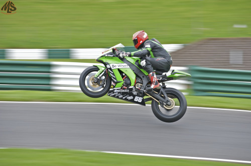 Josh Wainwright, new outright NGRRC lap record holder for Cadwell Park.