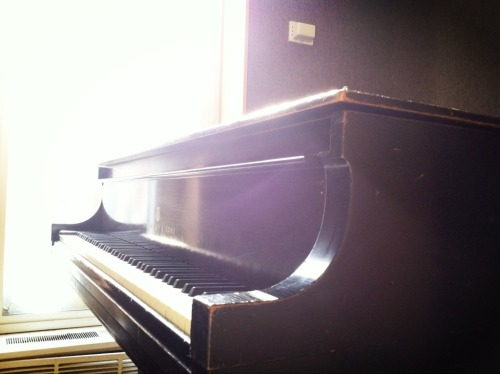 oberlinconservatory:  A Steinway, bathed in morning light