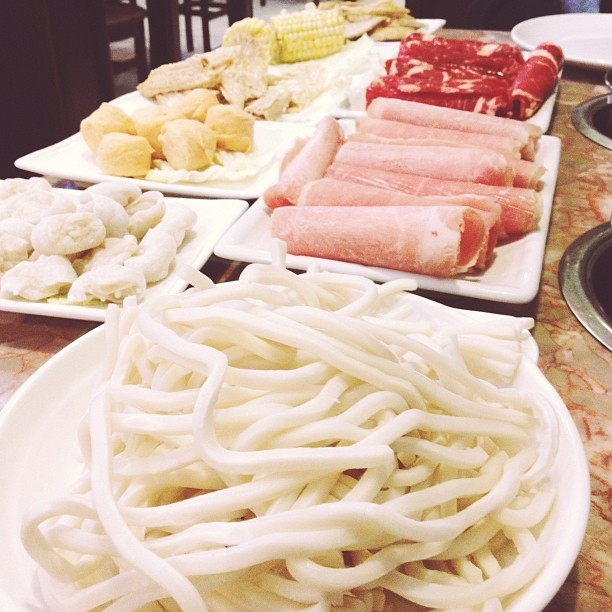 Hot pot. Huo guo. Whatever you want to call it, it's just delicious. (at Mekong Palace Restaurant)