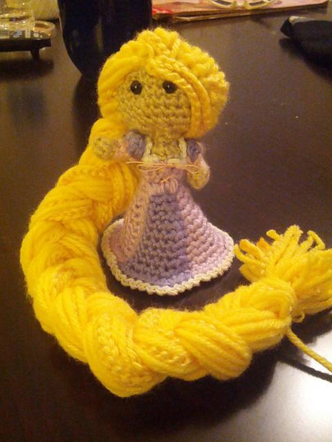 Rapunzel! This doll was a pain to make but worth it.