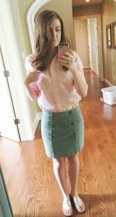 I am obsessed with this skirt!