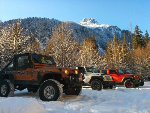 Snow wheeling meetup