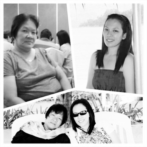Happy Mother's Day, nanay & ate!! ♥