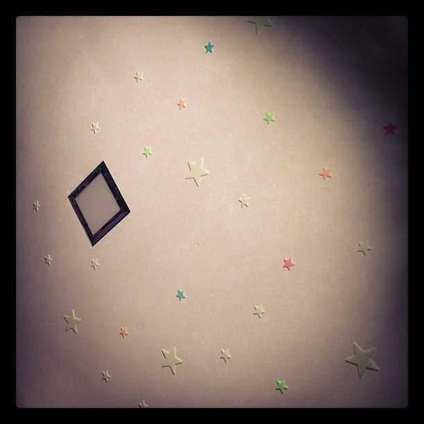 My glow in the dark stars! Love'em!