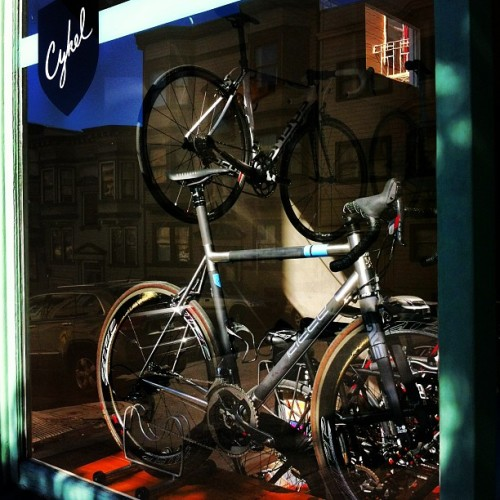 #ritte front and center today (at Cykel)