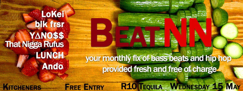 BeatNN is back at Kitcheners next wednesday! Click on the photo to get to the event page