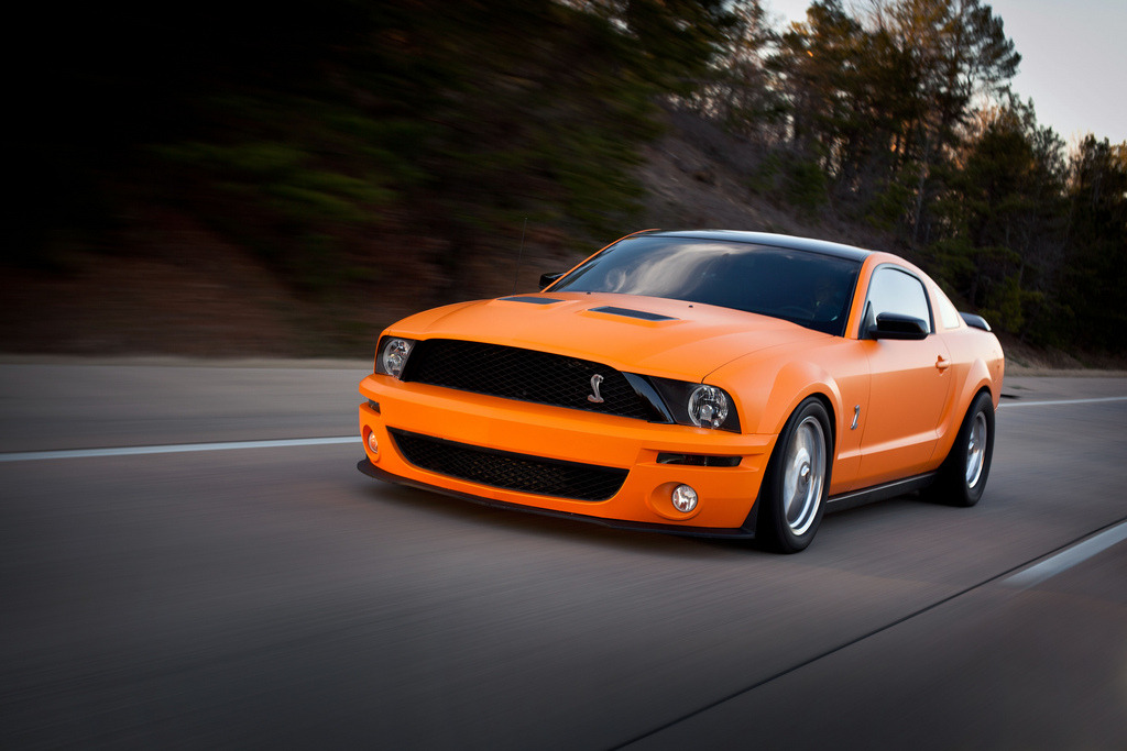 automotivated:  GT500 Rolling Shot (by Jennifer Franke Photography)