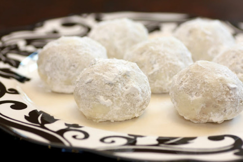 thecakebar:  Mexican Wedding Cookies