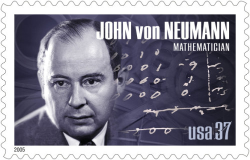People Who Studied Abroad #628:John von Neumann, mathematician and member of the Manhattan Project whose contributions influenced economics, computer science and quantum mechanics among other fields  From: Hungary  Studied: He earned a diploma in chemical engineering from the ETH Zurich (Switzerland).  [thanks to qbqrat for the tip!]