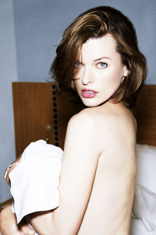suicideblonde:  Milla Jovovich photographed by Ellen von Unwerth