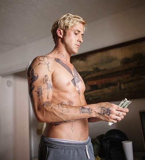 sews:  Ryan Gosling - The Place Beyond the Pines (2012)