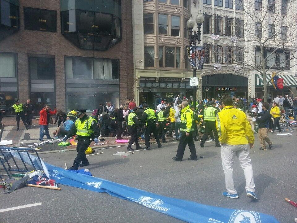 think-progress:  BREAKING: Reports of two explosions at the Boston Marathon. Developing…