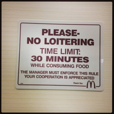 #McDonalds is getting real. (at McDonalds)