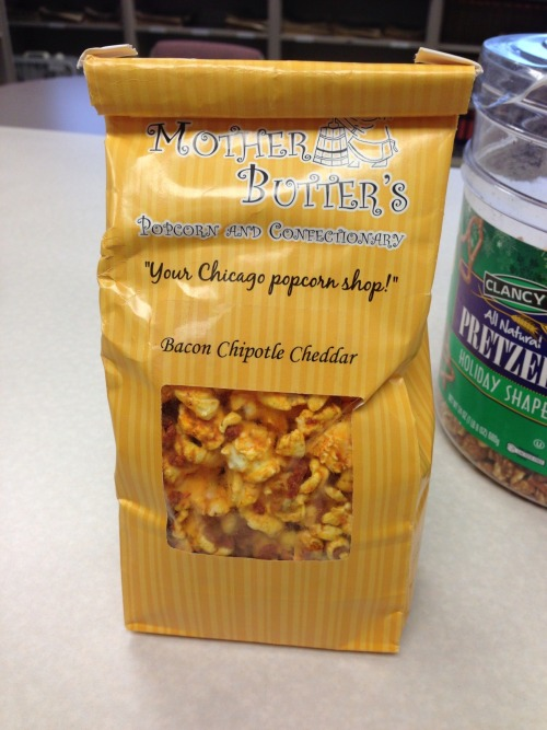 What fine person shared a bag of bacon chipotle cheddar popcorn at the office today? Oh right — me. Enjoy it, you animals.
