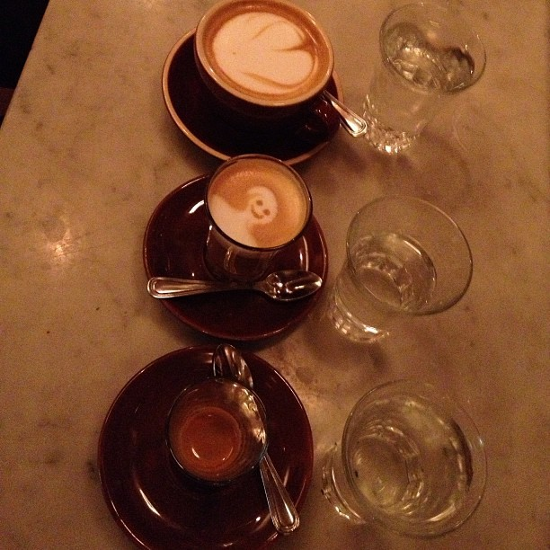 Cappuccino, Macchiato, Ristretto,  to each his own.