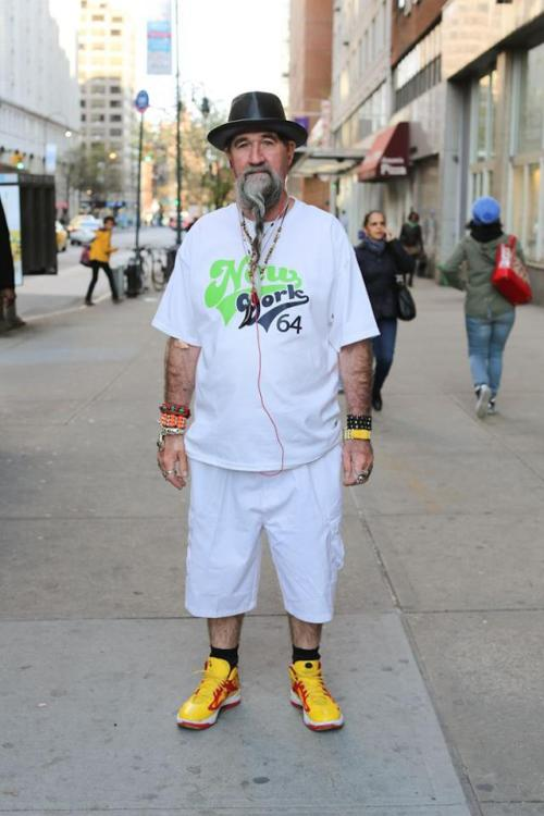 humansofnewyork:  He didn't speak English, but his son described him as 'extremely chillaxed.'   Extremely chillaxed…