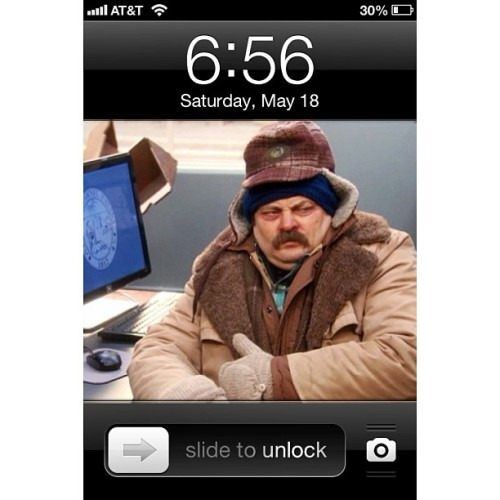 #ronswanson #love how I feel when I am cold…
