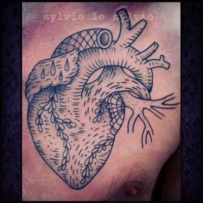 heart. done on queer flash day