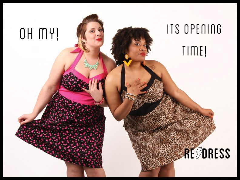 redressnyc:  Annnd we're back! We opened our virtual doors to our indiegogo donors over the weekend and they wiped us out of a lot of things/larger sizes, but we will be updating all week long. Take a peek! redressnyc.com  AHHH! our last 5 months of hard work finally paid off! our new stock rules and we are so excited to be open for biz!