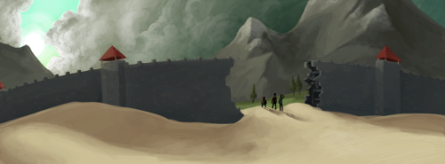christhedoctordaniel:  Another piece of the wall from Yogscast : Shadow of Israphel