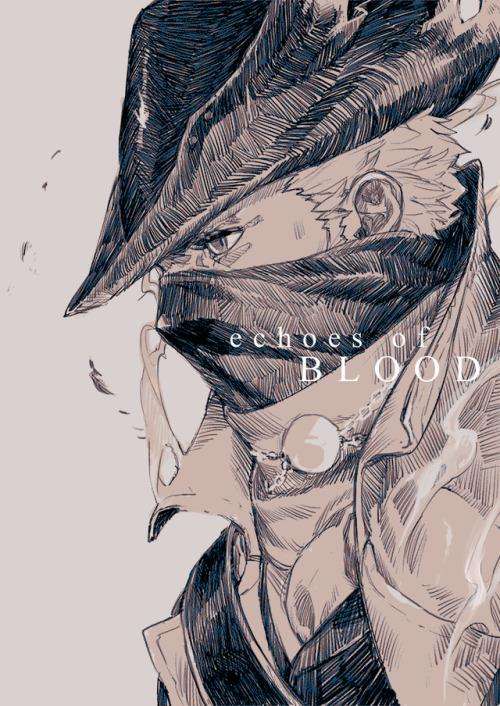 echoes of blood bloodborne comics zine soulsborne