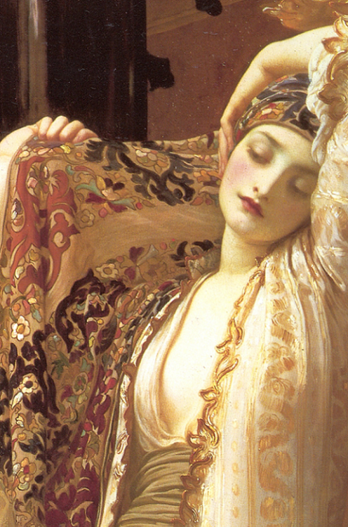 Light of the Harem, 1880 Frederic Leighton