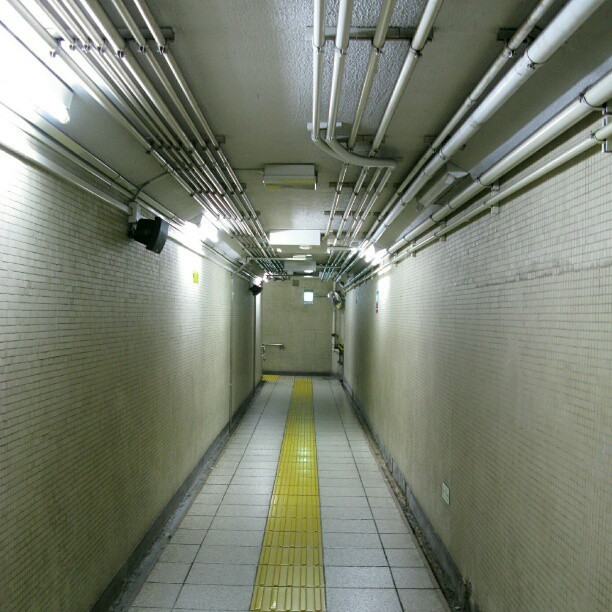 Kayabachō Station, Tokyo Japan #Tokyo#Metro#Subway#Underground#Passage#Japan#