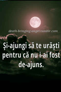 death-bringing-angel:  Ajungi.