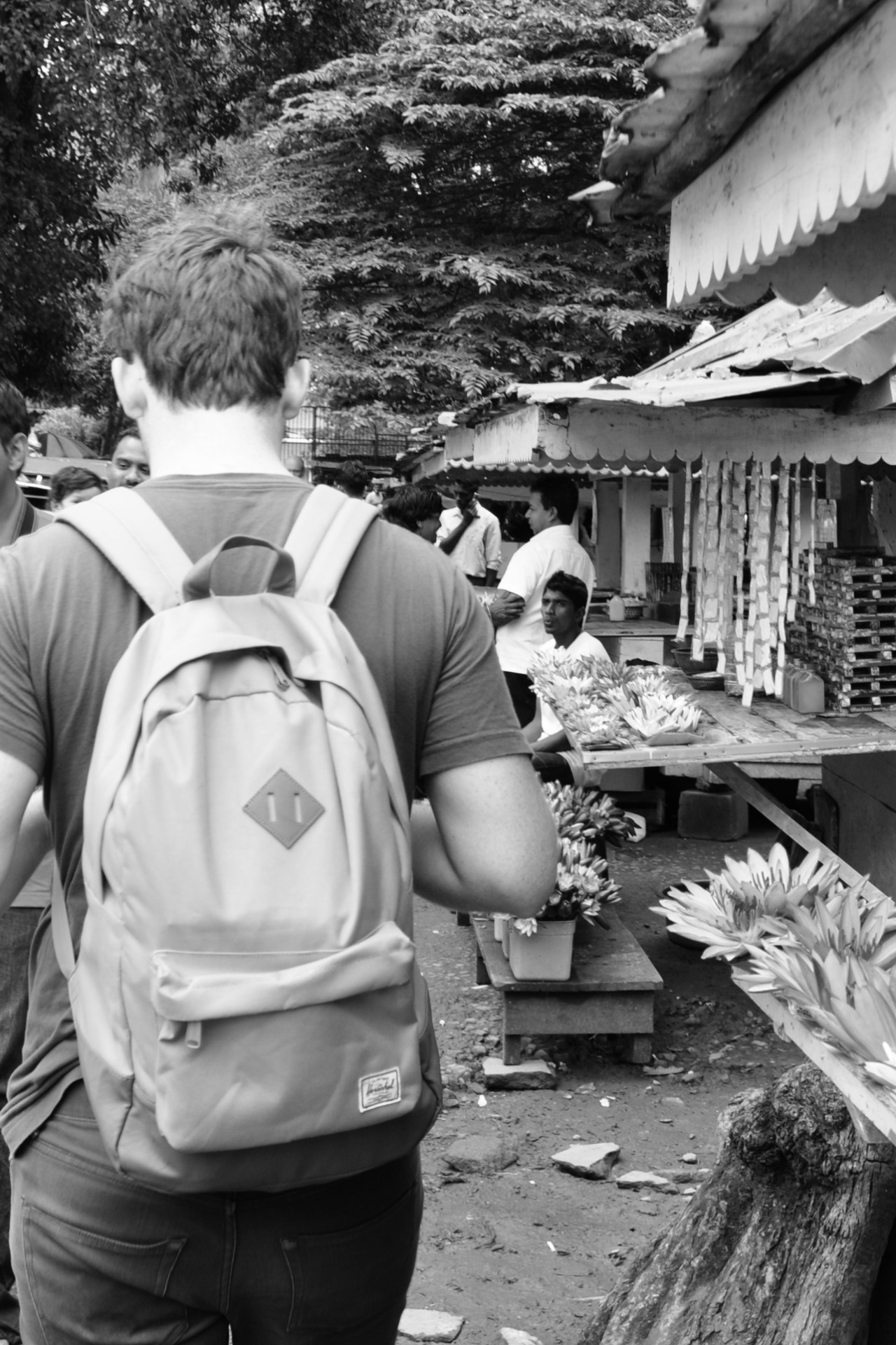 Backpacking through Kandy, 2013