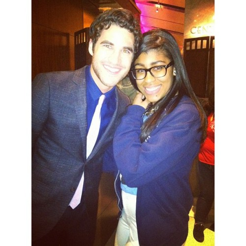 7th-ave:  @darrencriss #darrencriss #glee