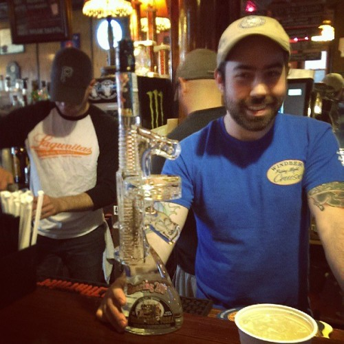 Vodka gun. (at The Windber Hotel)