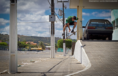 Victor Bob - halfcab flip By Roosevelt Alves on Flickr.