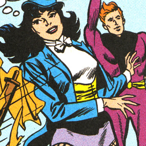 portascape:  So I was re-reading the Zatanna's Search trade with her first appearances and I kept on getting distracted by what a cutie Zee is in it.