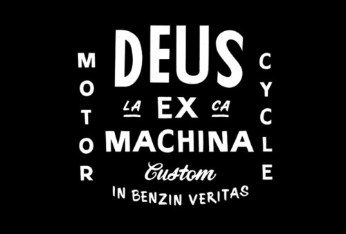typetoy:  www.typetoy.tumblr.com  Deus Ex Machina Custom Motor Cycle. In Benzin Veritas.
