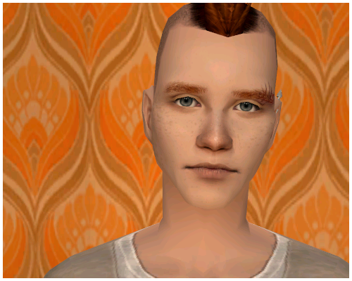 Yuri, one of my favourite sims ever. Also wins the title of Mr Un-photogenic 2013, since I've been sat here for bloody ages trying to get one, just one picture of him that looks somewhat decent. Why is screenshotting pixel-people so hard, goddammit.