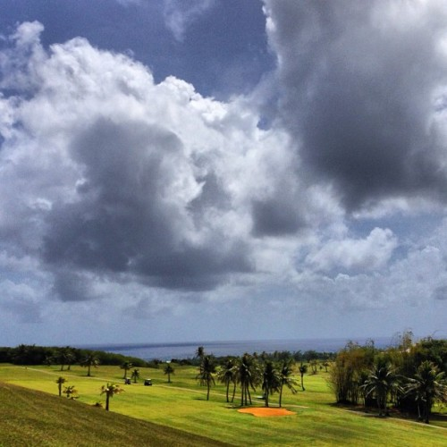 #golf #guam #ccp #sky #cloud #green #sea #instagram #webstagram