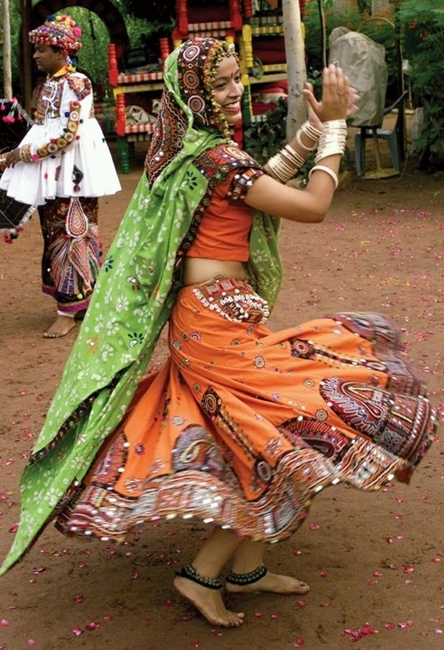 Rajasthani folk dancer ,India