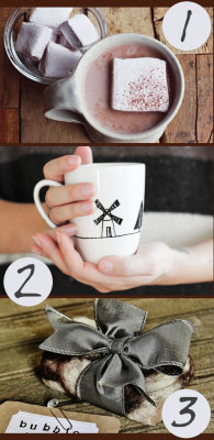 soapdeli:  DIY Gifts for Gals - Six Homemade Gift Ideas for Winter