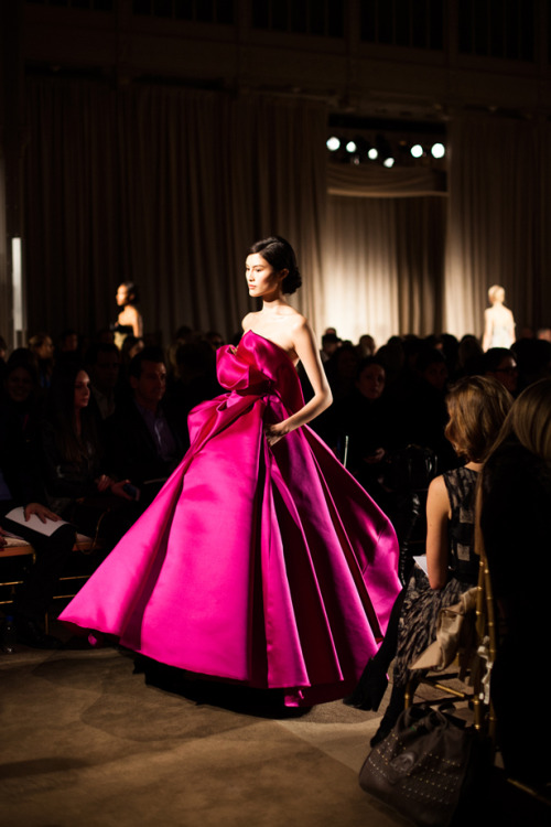 annstreetstudio:  Romance on the runway… Marchesa, Fall/Winter 2013.