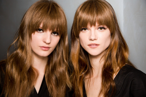 The best beauty looks at Milan Fashion Week (including the super-'60s hair at Pucci). Photo: Mark Leibowitz