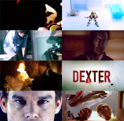 "10 tv shows [2/10] - dexter""blood. sometimes it sets my teeth on edge, sometimes it helps control the chaos."""